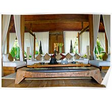 Bali Lounge Poster