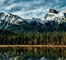 Mountain Lake by BigFluffyFozzie