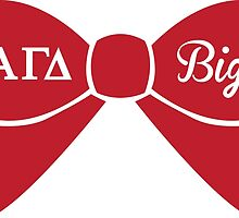 Alpha Gamma Delta - Big Sis Bow by Margaret Young