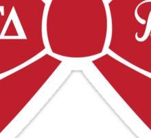 Alpha Gamma Delta - Big Sis Bow Sticker