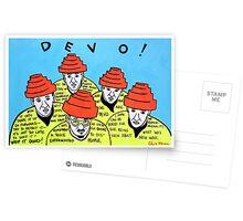 Are we not men! We are DEVO! -  Pop folk art  Postcards