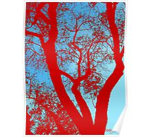 """""""Coral trees"""" Poster"""