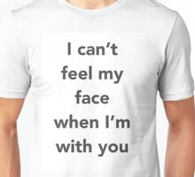 "The Weeknd ""Cant Feel My Face"" Unisex T-Shirt"