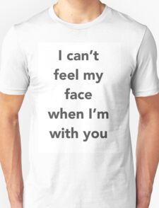 """The Weeknd """"Cant Feel My Face"""" T-Shirt"""