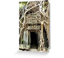 Doorway to the Earth Greeting Card