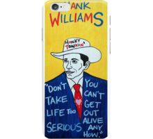 Hank Williams Country Folk Art iPhone Case/Skin