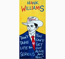 Hank Williams Country Folk Art Unisex T-Shirt