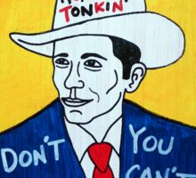 Hank Williams Country Folk Art Sticker