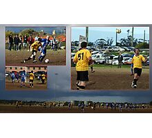The world game and how small it is.  Photographic Print
