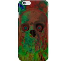 Evil Lives Psychedelic iPhone Case/Skin