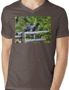 Cut & Paste  Mens V-Neck T-Shirt