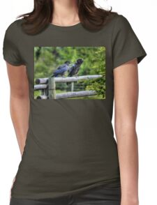 Cut & Paste  Womens Fitted T-Shirt
