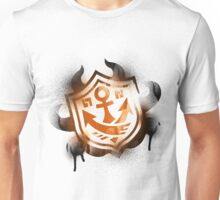Splatoon Inspired: Graffiti Ranked Battle Icon Unisex T-Shirt