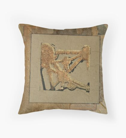 """"""" artist book page one"""" Throw Pillow"""