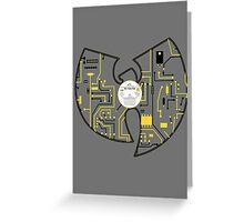 Cybernetic Wu Greeting Card
