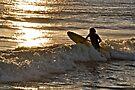 Sunset Surfer by Helen Vercoe