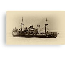 Rusted Hull Canvas Print