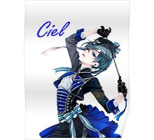 Ciel Phantomhive Book of Circus Poster