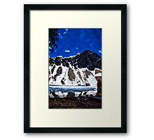 Meadow Lake Idaho Framed Print