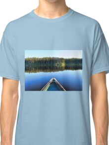Canoeing on Lonely Lake Classic T-Shirt