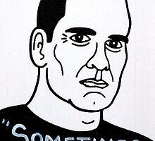 Henry Rollins Folk Art by krusefolkart