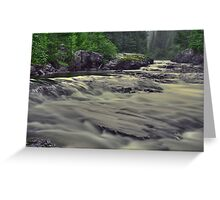 Whitefish River Greeting Card