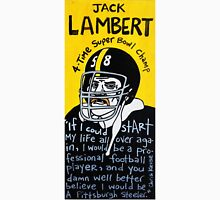 Jack Lambert Steelers Football Folk Art Unisex T-Shirt