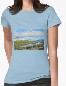 Penguin Paradise Womens Fitted T-Shirt