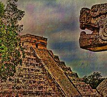 Looking at El Castillo by vadim19
