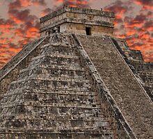 El Castillo. Chichen Itza. Mexico by vadim19