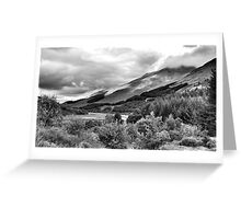 The View From Crianlarich Community Woodland Greeting Card