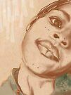 Self-Portrait One by Azellah