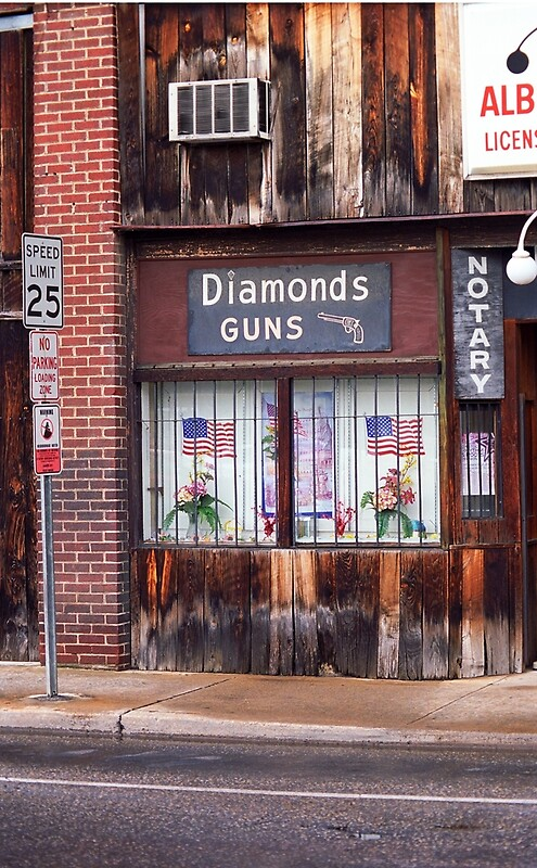 Johnson City Tennessee Gun Shop Posters By Frank