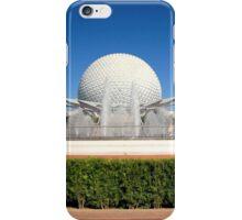 Spaceship Earth Landscape iPhone Case/Skin