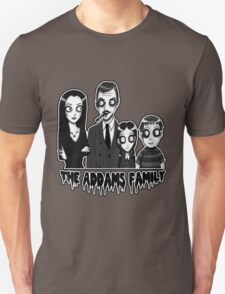 The Addams Family Portrait T-Shirt