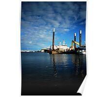 Fremantle Fishing Harbour Poster