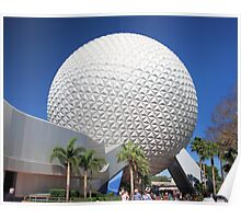 Spaceship Earth in Daylight Poster