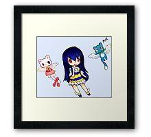Wendy- The Sky Dragon Slayer Framed Print