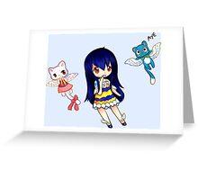 Wendy- The Sky Dragon Slayer Greeting Card