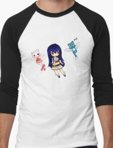 Wendy- The Sky Dragon Slayer Men's Baseball ¾ T-Shirt