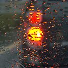 Tail light Abstract by Rusty Katchmer