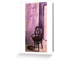 Daddy's Empty Chair Greeting Card