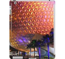 Spaceship Earth at Night iPad Case/Skin