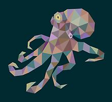 Octopus Lowpoly by tsign703
