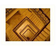 Stalin staircase Art Print