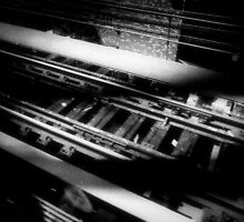 """""""an empty train track is my own private melody."""" ShellyKay~ by ShellyKay"""