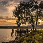 Verplanck Point Sunset  by JHRphotoART