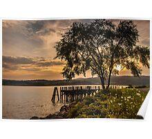 Verplanck Point Sunset  Poster