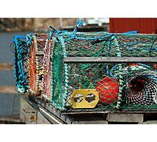 Pound Nets Photographic Print