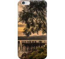Verplanck Point Sunset  iPhone Case/Skin